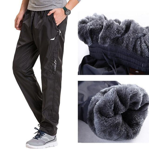 West Louis™ Fleece Thick Pants Blacv3 / L - West Louis
