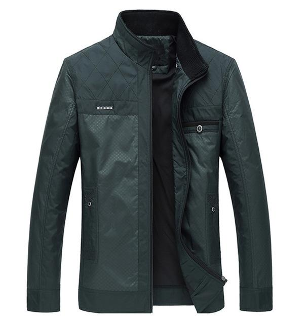 West Louis™ Business Gentleman Winter Coat Dark Green / XL - West Louis