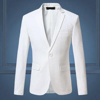 West Louis™ Terno Designer Blazer White / M - West Louis