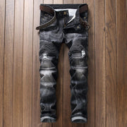 West Louis™ Spring Straight Denim Jeans Black / 29 - West Louis