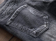 West Louis™ Spring Straight Denim Jeans  - West Louis