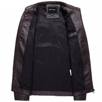 West Louis™ Bomber Leather Men Jackets  - West Louis