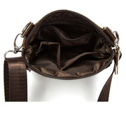 West Louis™ Crossbody Leather Shoulder Bag  - West Louis