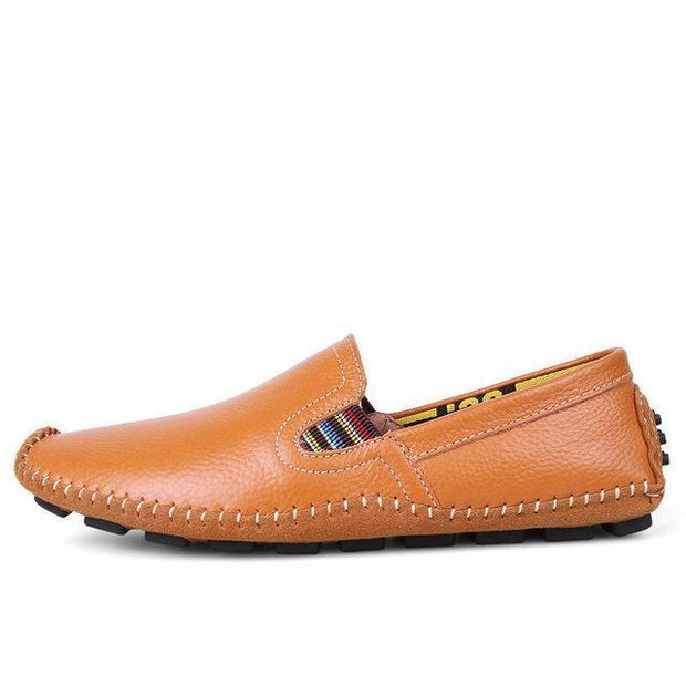 West Louis™ Genuine Leather Plus Shoes Yellow brown / 6.5 - West Louis