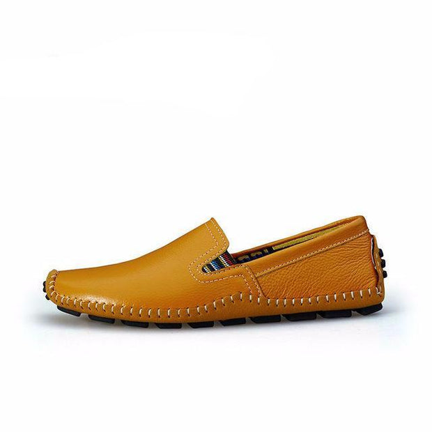 West Louis™ Genuine Leather Plus Shoes Yellow / 6.5 - West Louis