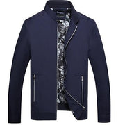 West Louis™ Thin Autumn Leisure Jacket blue / L - West Louis