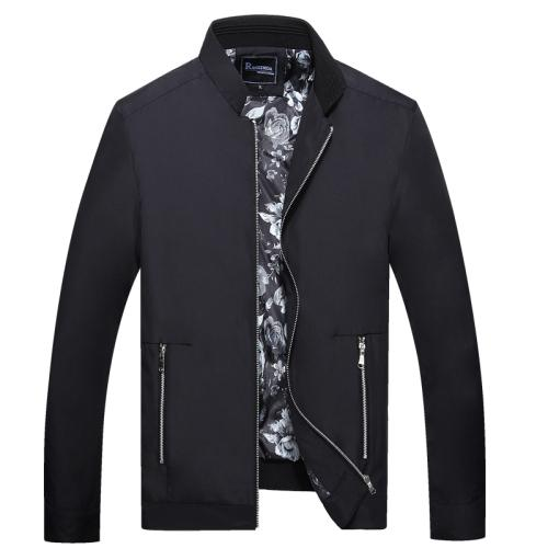 West Louis™ Thin Autumn Leisure Jacket black / L - West Louis