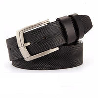 West Louis™ Fancy Vintage Leather Belt B balck / 95cm  less 27 Incn - West Louis