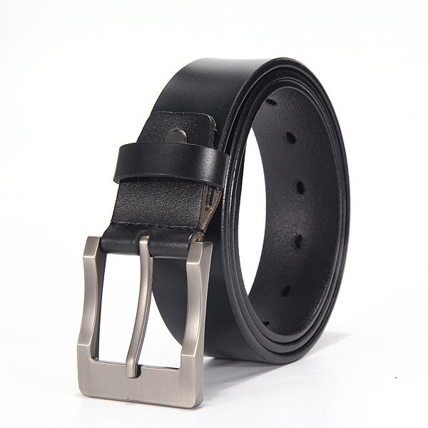 West Louis™ Fancy Vintage Leather Belt D black / 100cm 27to29 Incn - West Louis