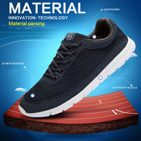 West Louis™ Comfortable Lace-Up Walking  Shoes  - West Louis