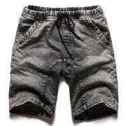 West Louis™ Gray Washed Denim Shorts Gray / S - West Louis