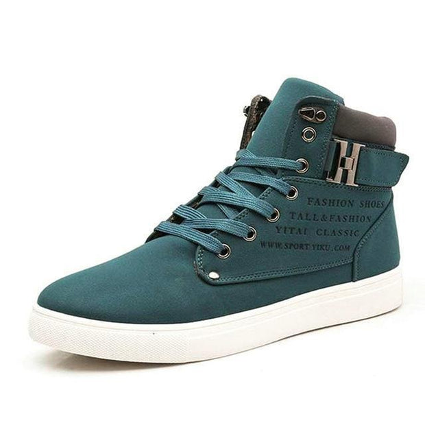 West Louis™ Hot High Top Fashion Warm Shoes Green / 6.5 - West Louis