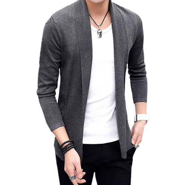 West Louis™ Casual Slim Fit Thin Cardigan  - West Louis