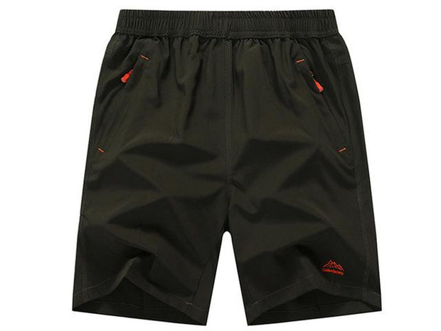 West Louis™ Summer Solid Leisure Quick-Drying Shorts Army Green / L - West Louis