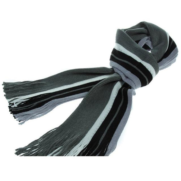 West Louis™ Fashion Patchwork Warm Men Scarf Middle grey / free size - West Louis
