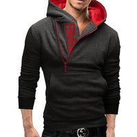 West Louis™ Designer Made Hoodie ( 6 Colors ) dark grey / 4XL - West Louis