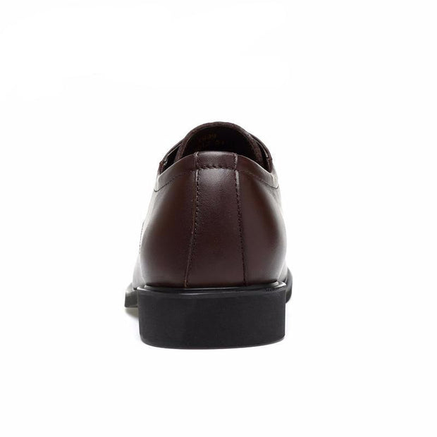 West Louis™ High Quality Genuine Leather Dress Shoes  - West Louis
