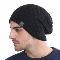 West Louis™ Knitted Fur Beanie  - West Louis