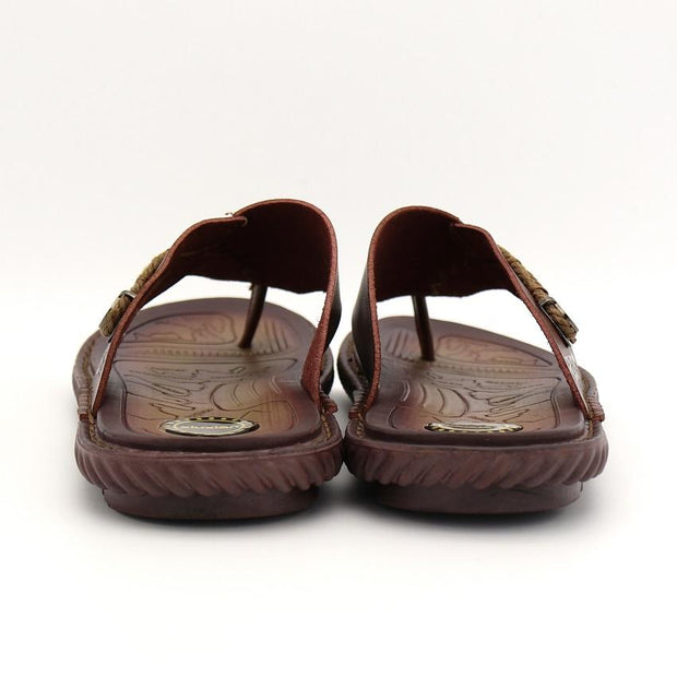 West Louis™ Luxury  Microfiber Leather Slippers  - West Louis