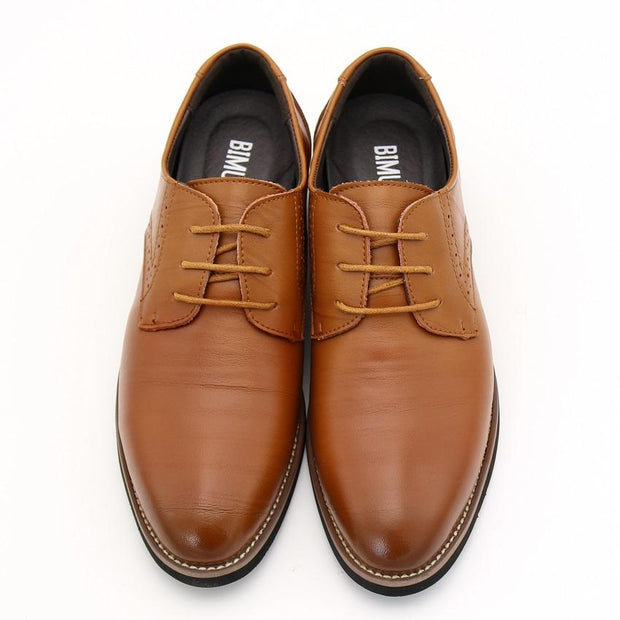 West Louis™ Brogues Lace-Up Bullock Shoes  - West Louis