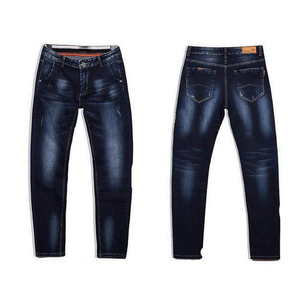West Louis™ High Quality Stretch Denim Jeans Blue / 28 - West Louis