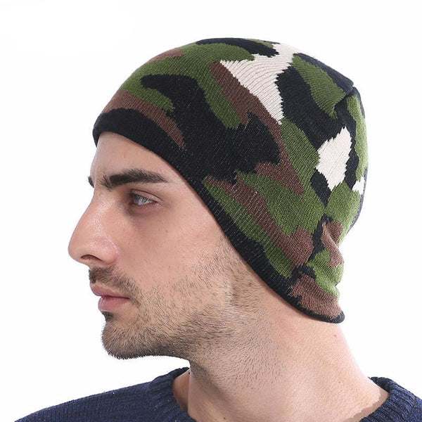 West Louis™ Camo Beanie  - West Louis