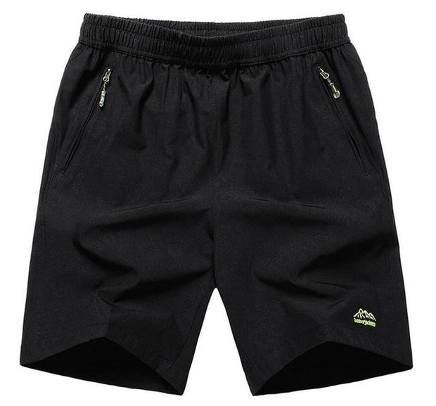 West Louis™ Summer Solid Leisure Quick-Drying Shorts Black2 / L - West Louis
