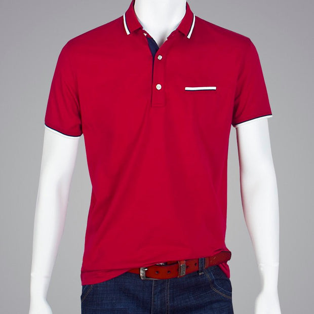West Louis™ Fashion Homme Polo Shirts