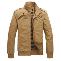West Louis™ Wind Proof Top Quality Jacket Khaki / M - West Louis