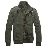 West Louis™ Wind Proof Top Quality Jacket Army Green / M - West Louis