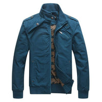 West Louis™ Wind Proof Top Quality Jacket Blue / M - West Louis