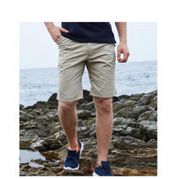 West Louis™ Bermuda Washing Multi-Pocket Men Short  - West Louis
