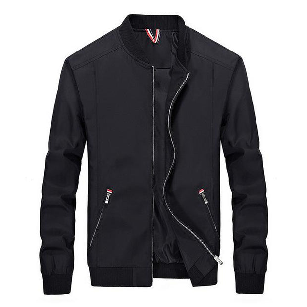 West Louis™ Slim Windbreaker Jackets Black / M - West Louis