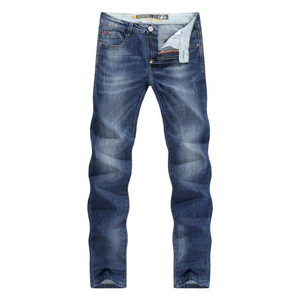 West Louis™  Business Casual Thin Jeans Blue / 28 - West Louis
