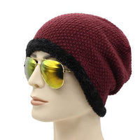 West Louis™ Baggy Beanie wine red - West Louis