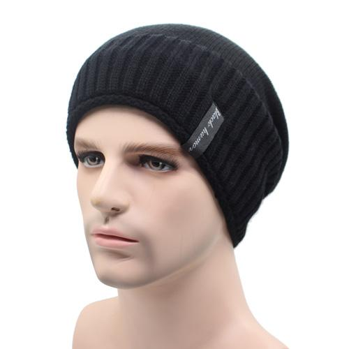West Louis™ Knitted Winter Beanie black - West Louis