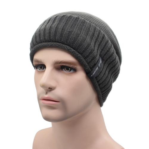 West Louis™ Knitted Winter Beanie gray - West Louis