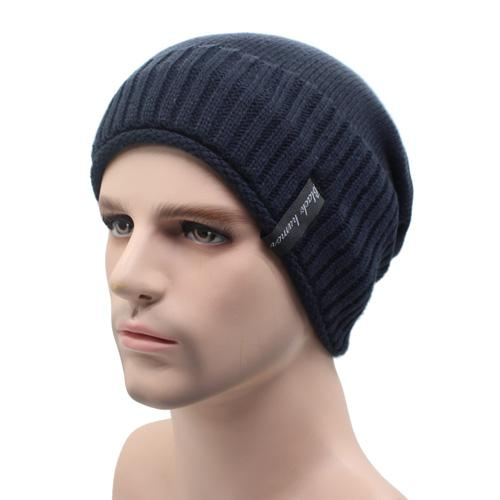 West Louis™ Knitted Winter Beanie navy - West Louis