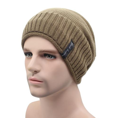 West Louis™ Knitted Winter Beanie khaki - West Louis