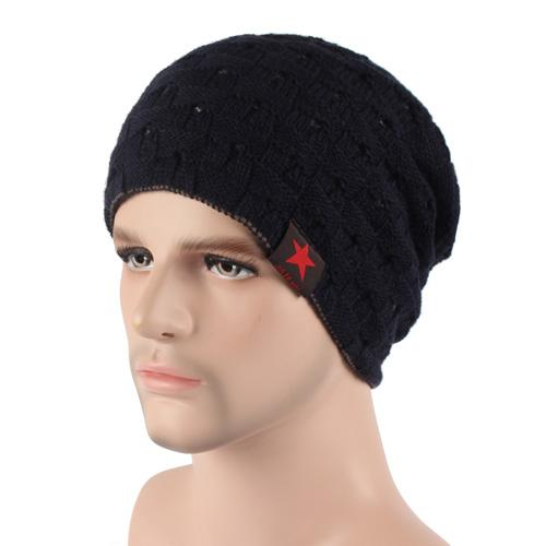 West Louis™ Knitted Beanie black - West Louis