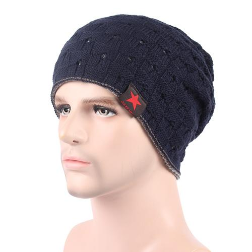 West Louis™ Knitted Beanie navy - West Louis