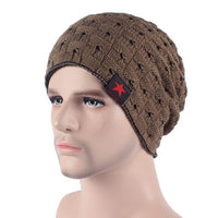 West Louis™ Knitted Beanie khaki - West Louis