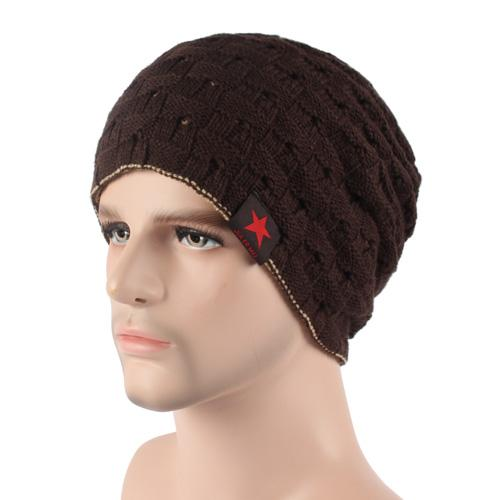 West Louis™ Knitted Beanie coffee - West Louis