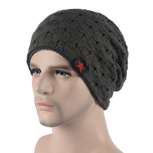 West Louis™ Knitted Beanie dark gray - West Louis