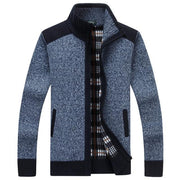 West Louis™ Autumn Winter Knitted Sweater BLUE / L - West Louis