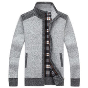 West Louis™ Autumn Winter Knitted Sweater GRAY / L - West Louis