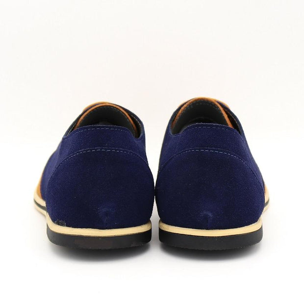 West Louis™ Real Suede Leather Shoes  - West Louis