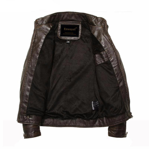 West Louis™ Moto Vintage Jackets  - West Louis