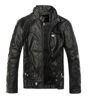 West Louis™ Moto Vintage Jackets Black / M - West Louis