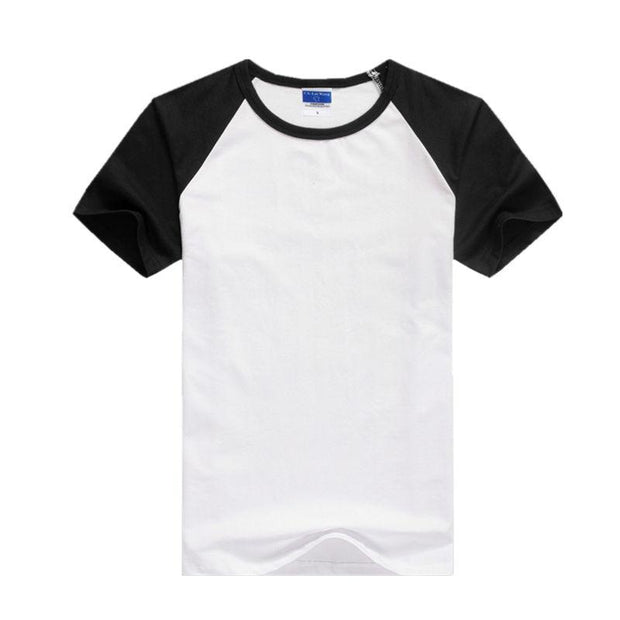 West Louis™ Summer Round Collar Cotton T-shirt  - West Louis